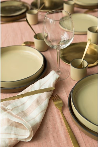 Linen Tablecloth Terracotta - Small