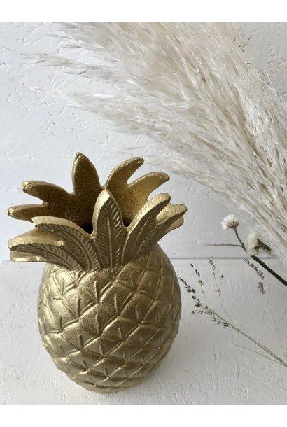 Vase Aluminium Gold