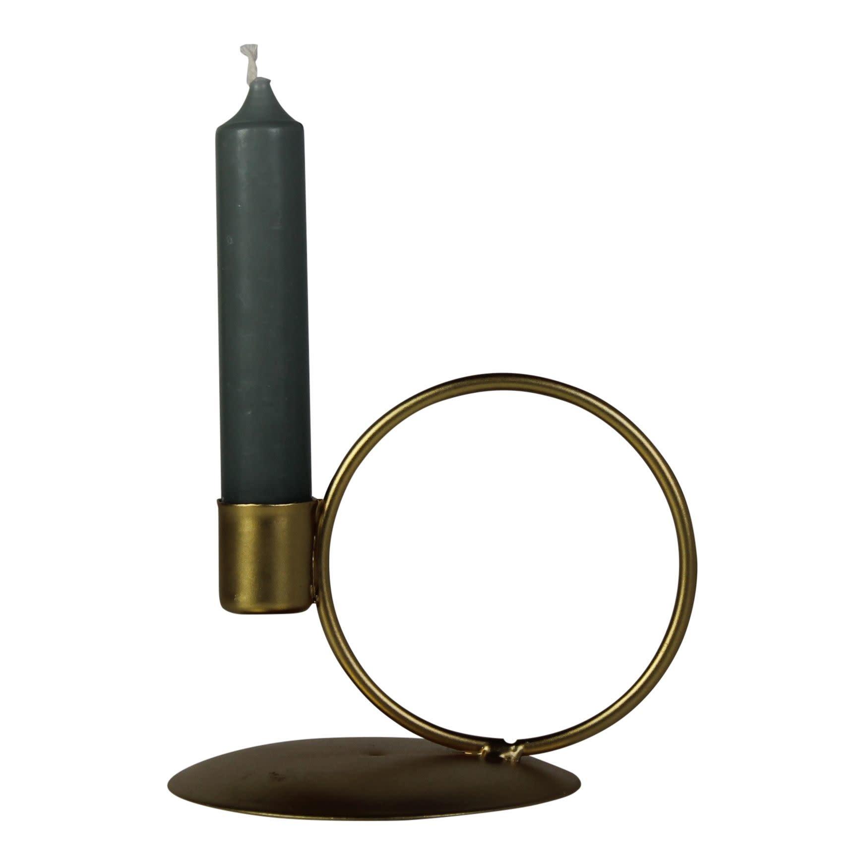 Kandelaar Cirkel Goud-1