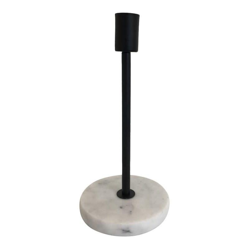 Kandelaar Marmer/Zwart M-1