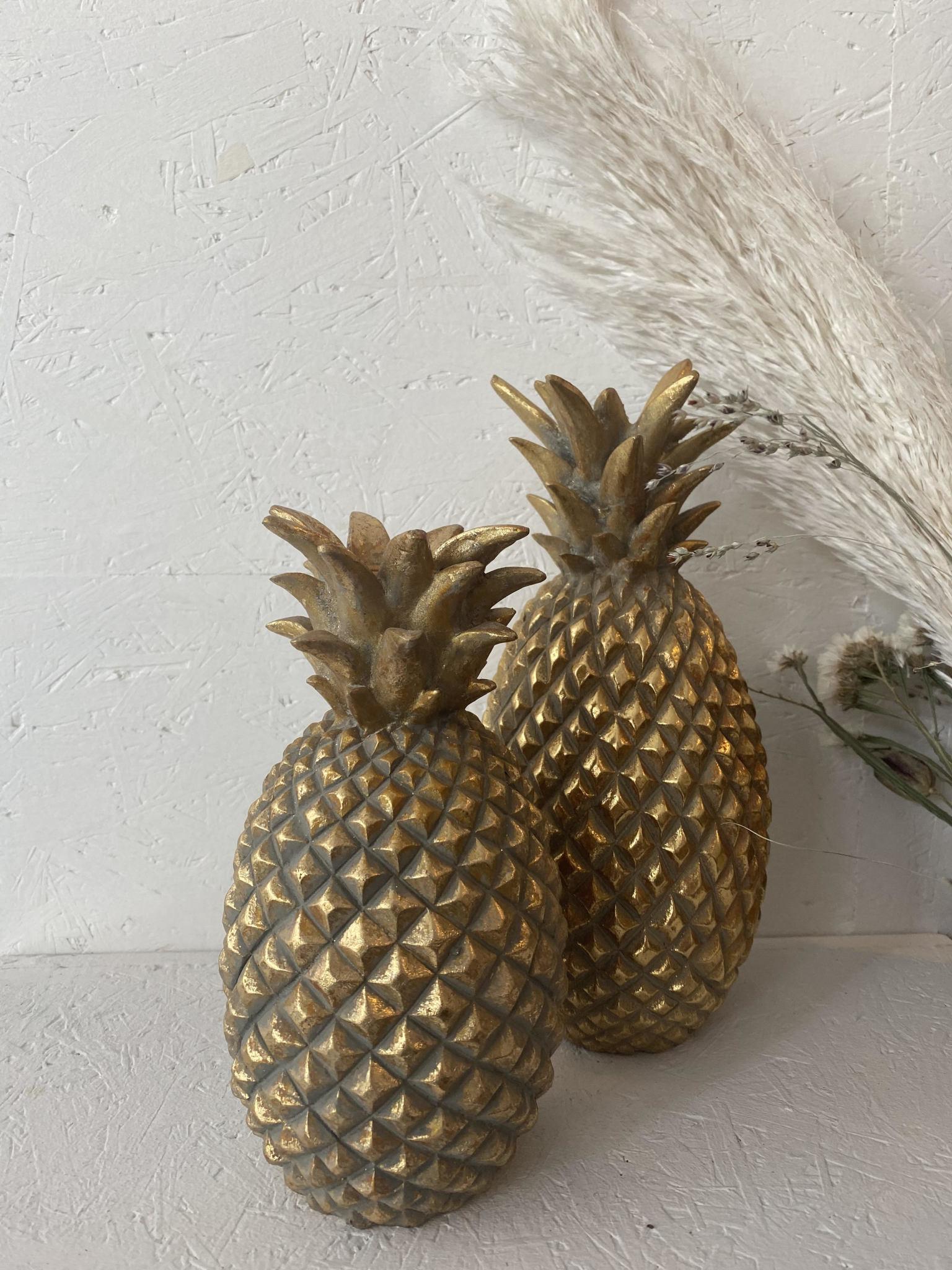Kandelaar Ananas Goud - Small-2