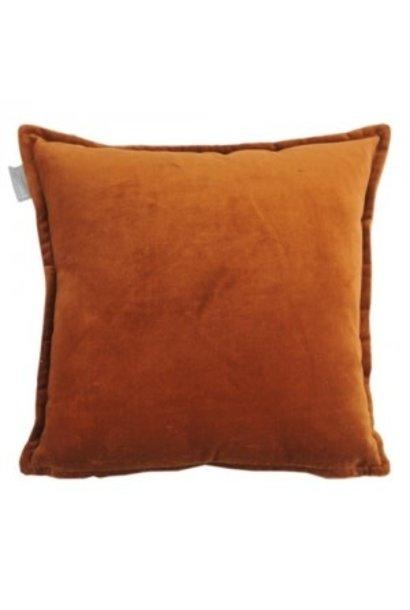 Cushion Velvet Terracotta