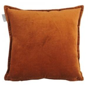 Kussen Flueel Terracotta-1