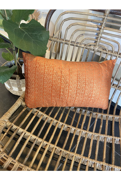 Cushion Peanut Terracotta
