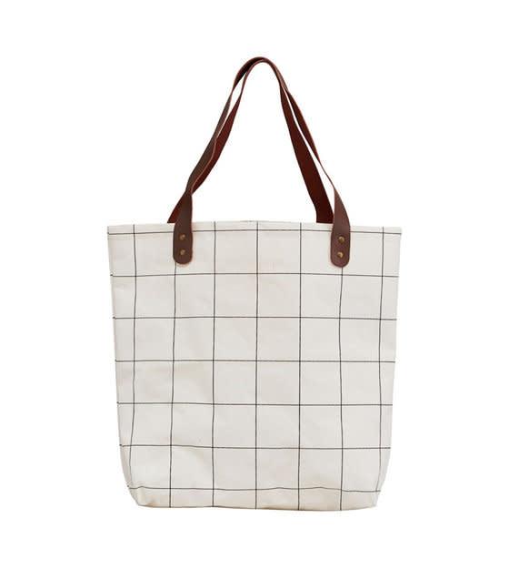 Tas/Shopper Wit Vierkant-1