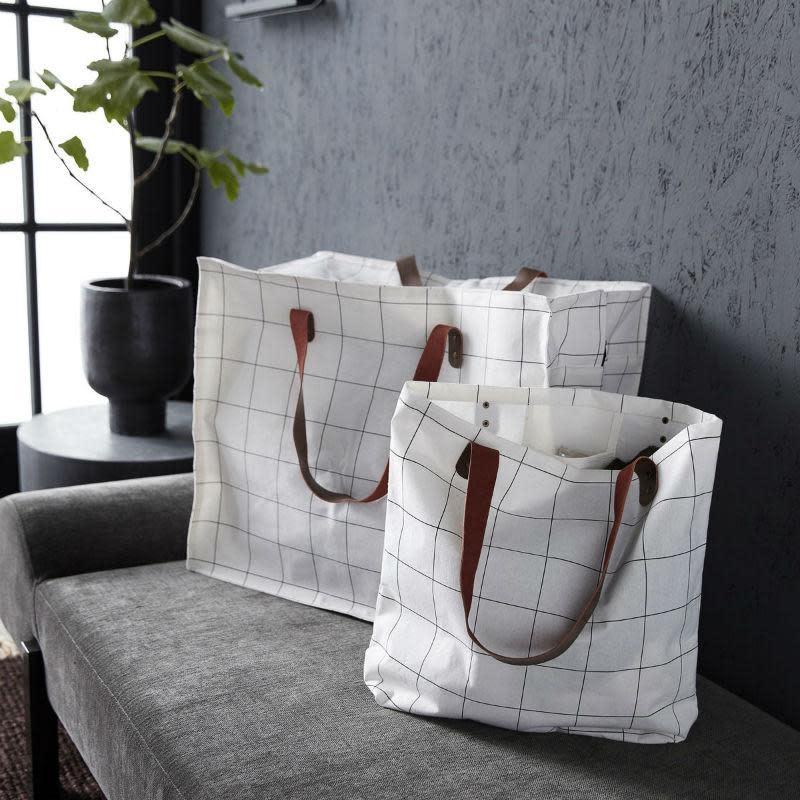 Tas/Shopper Wit Vierkant-2