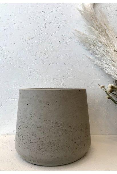 Flowerpot Grey Large