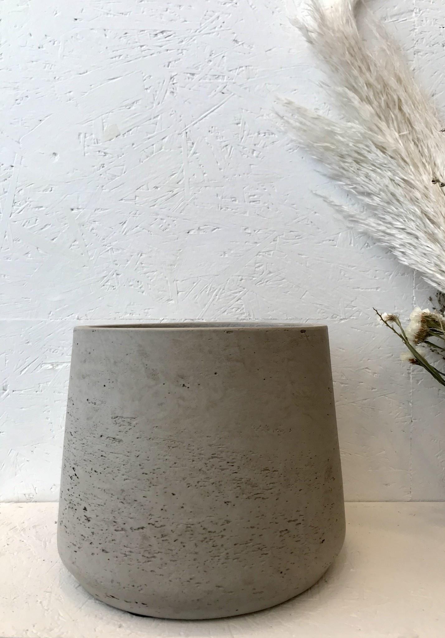 Bloempot Grijs - Large-1