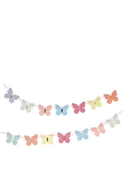 Butterfly Garland 'Thank You' Card