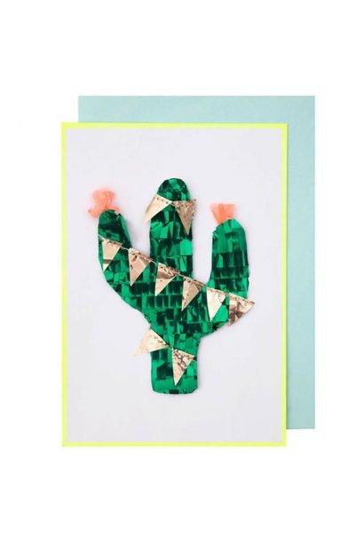 Pinata Cactus Card