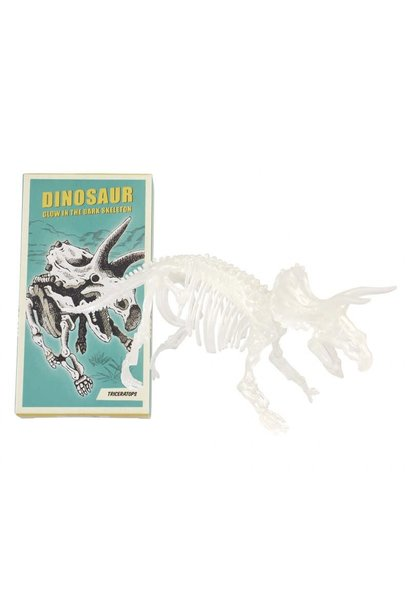 DHZ Dinosaurusskelet (Glow In The Dark) - Triceraptops