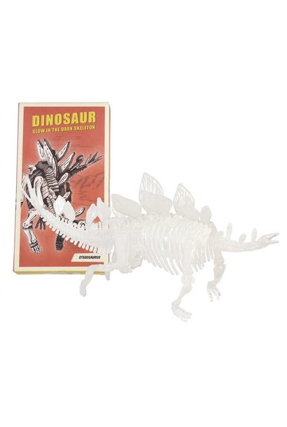 DHZ Dinosaurusskelet (Glow In The Dark) - Stegosaurus