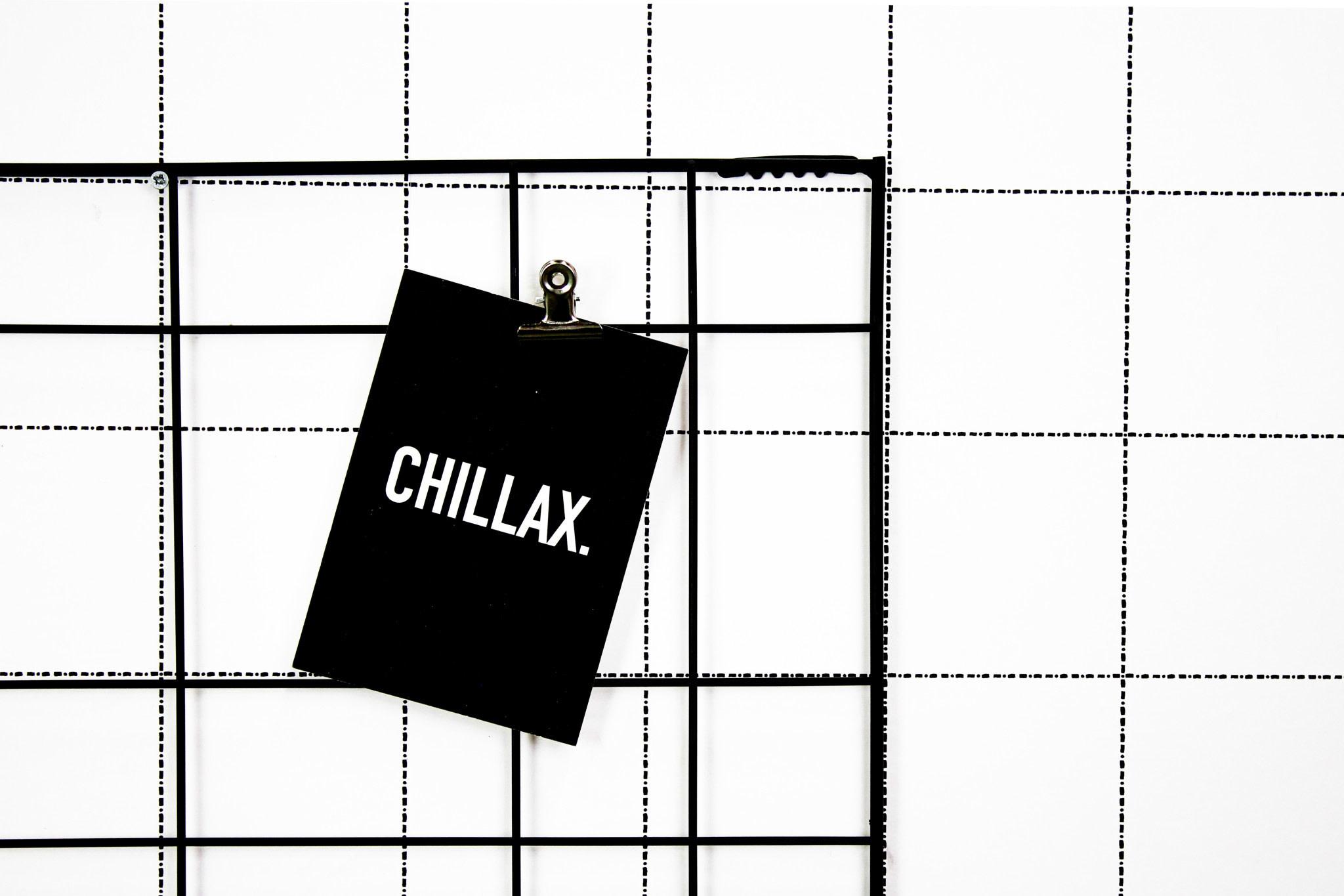 Postkaart Chillax-2