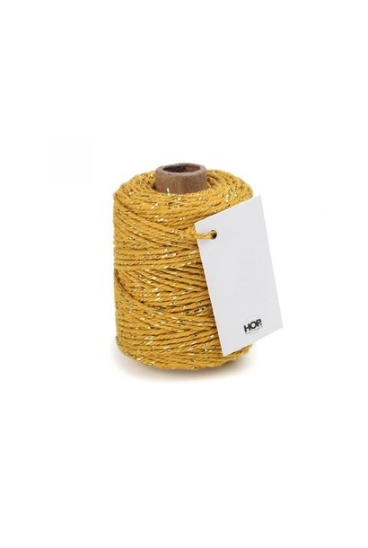 Rope Ochre with Golden Touch