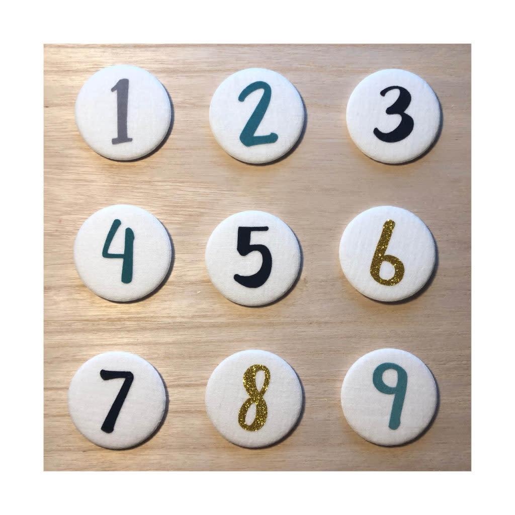 Cijferknop 8 Goud-3