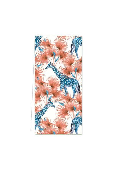 Cadeaulabel - Blue Giraffe