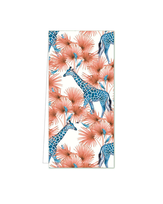 Cadeaulabel - Blue Giraffe-1