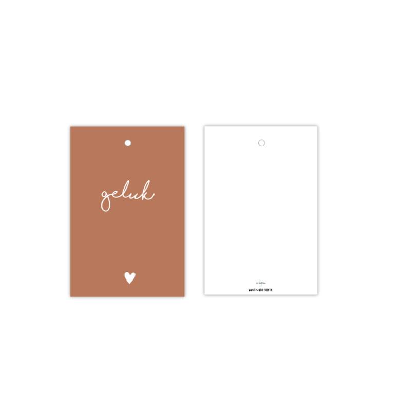 Cadeaulabel Geluk - Studio Steef-1