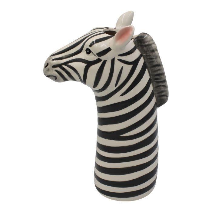 Vaas Zebra Keramiek-1