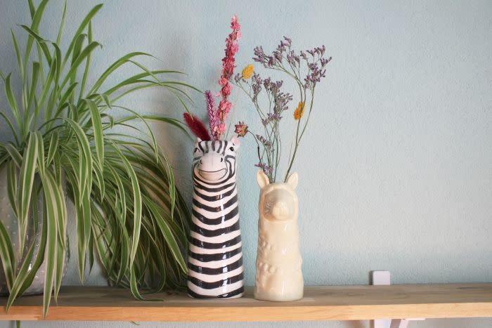 Vaas Zebra Keramiek-3