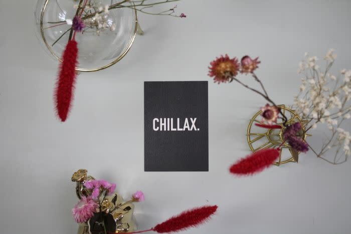 Postkaart Chillax-3