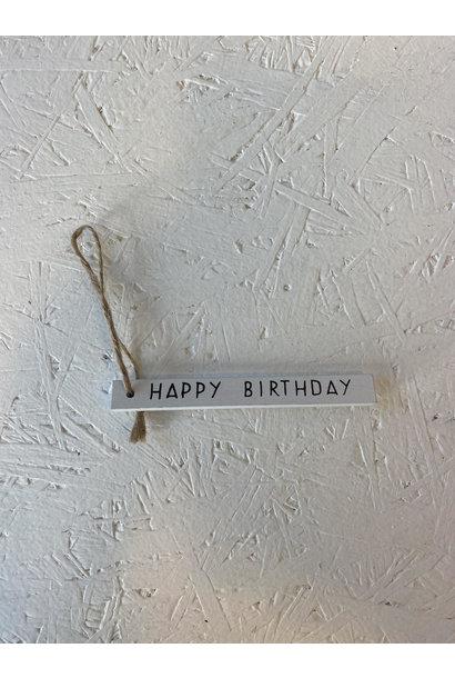 Gift Tag - Happy Birthday
