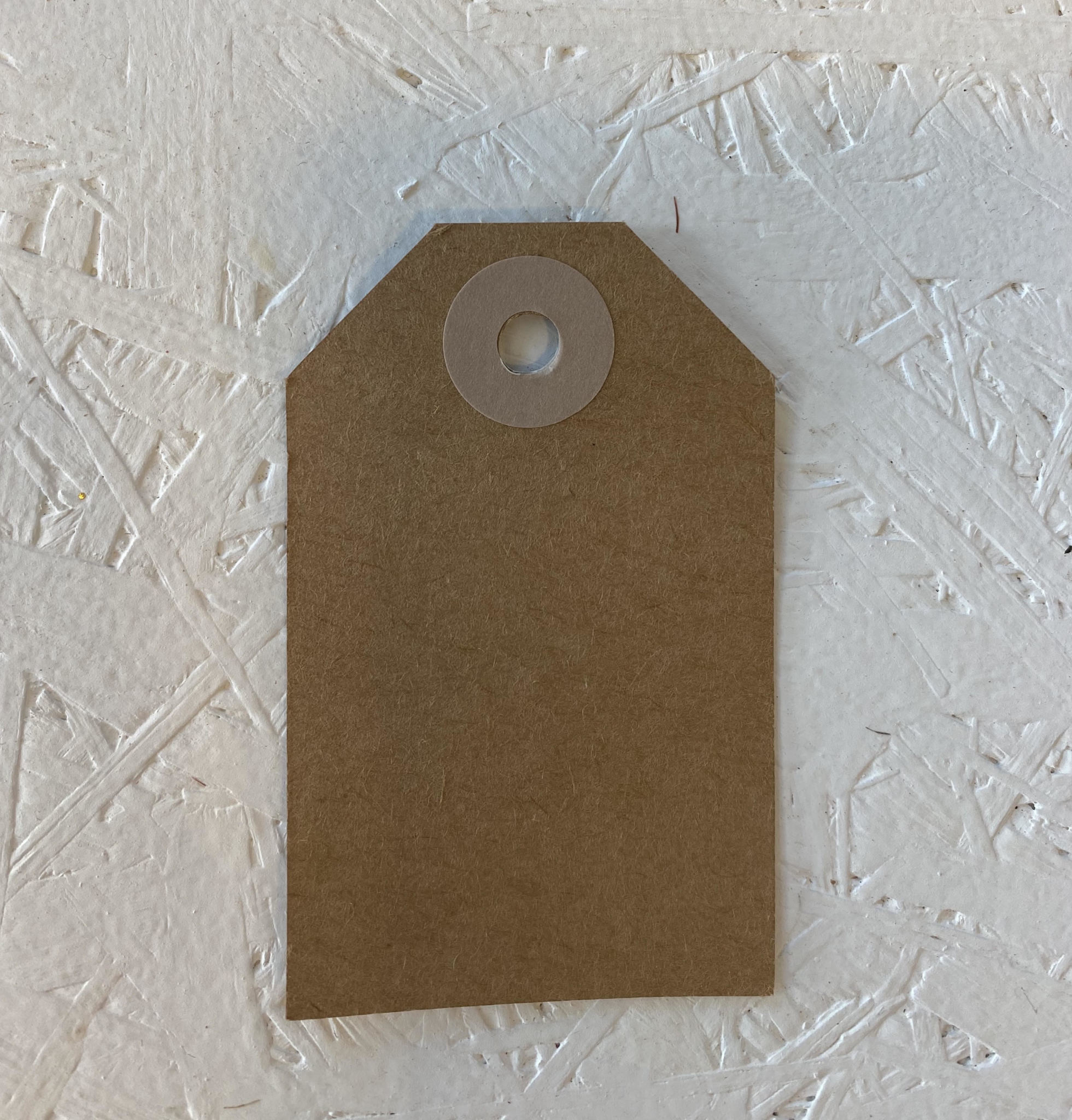 Cadeaulabel - Kraftpapier Roze-2
