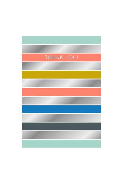 Postkaart- Thank You