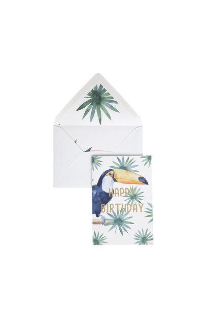 Greeting Card - 'Happy Birthday'