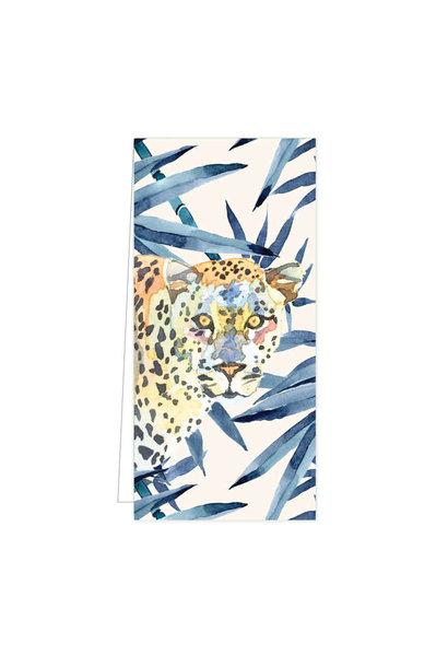 Cadeaulabel - Hide & Seek Leopard Blue