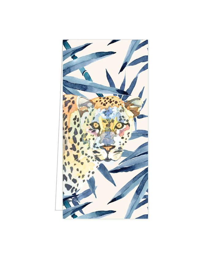 Cadeaulabel - Hide & Seek Leopard Blue-1