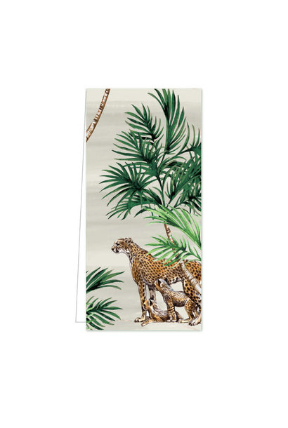 Gift Tag - Happy Family Leopard