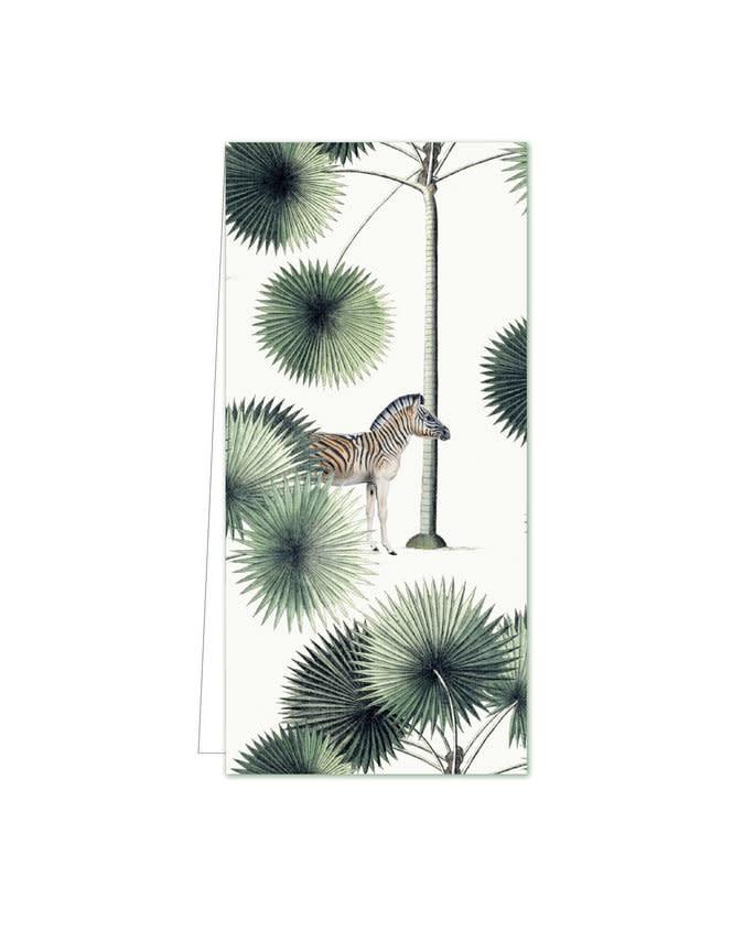 Cadeaulabel - Palms & Stripes Zebra-1