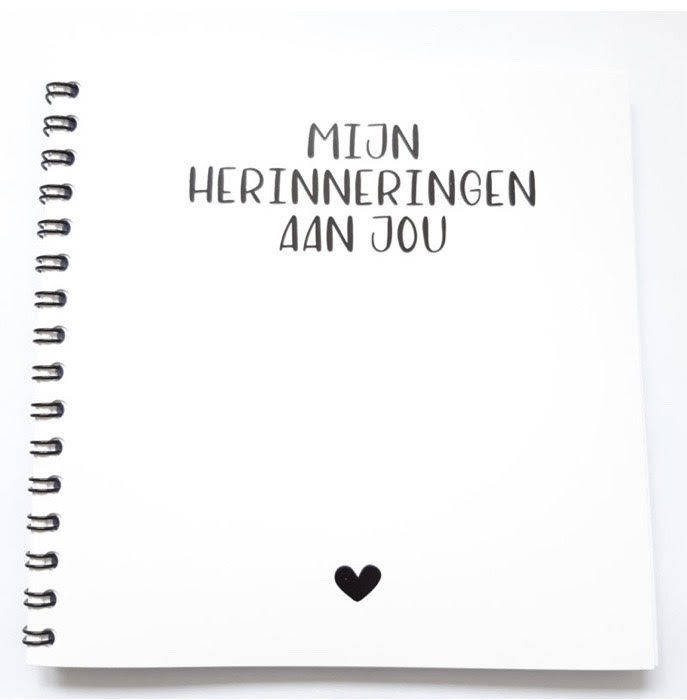 Herinneringsboekje -  Liefs Op Papier-1