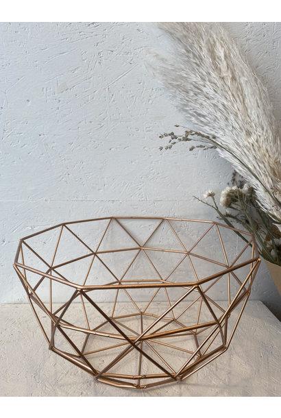 Iron Basket Copper - Medium