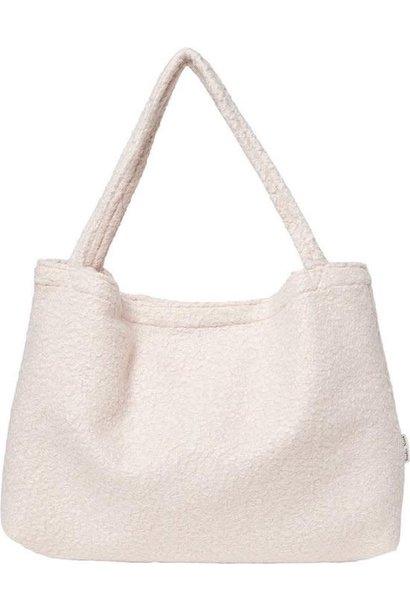 Mom-Bag Bouclé White