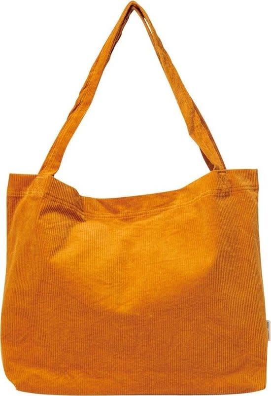 Orange rib mom-bag - Studio Noos-1
