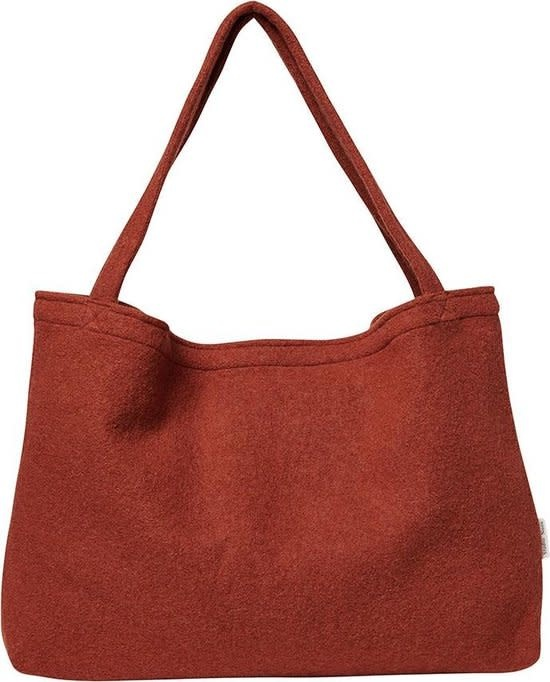 Terracotta woolish mom-bag-1