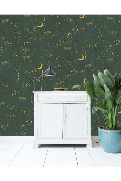 Wallpaper Mural - Gold Stargazer