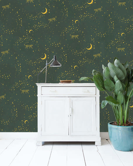 Behang Mural - Gold Stargazer-1