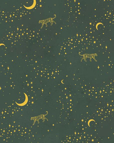 Behang Mural - Gold Stargazer-2
