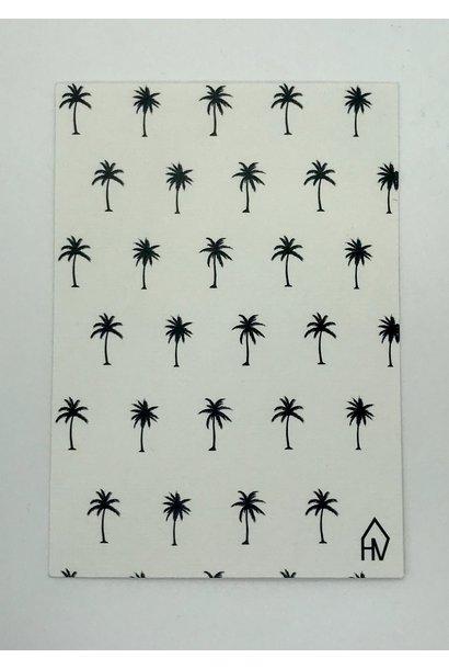 Postkaart Palmbomen