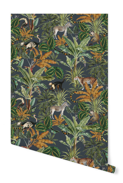 Wallpaper on a roll - Mighty Jungle