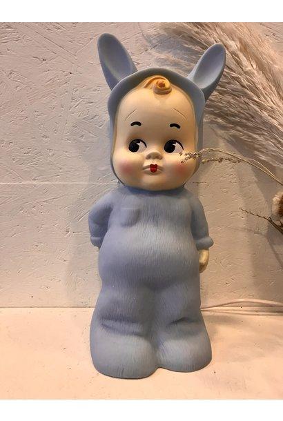 Retro Lamp Baby Blauw
