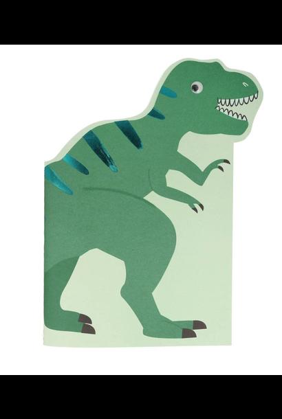 Schets & Stickerblok Dino