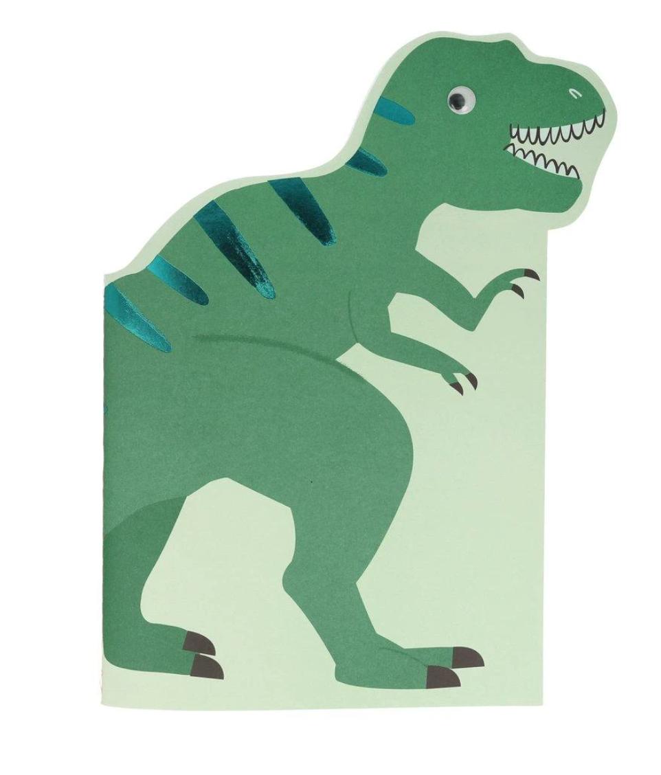 Schets & Stickerblok Dino-1
