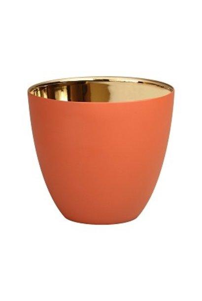 Tealight holder Large - Terracotta