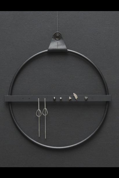 Juwelenhouder Strups Ring Zwart Small