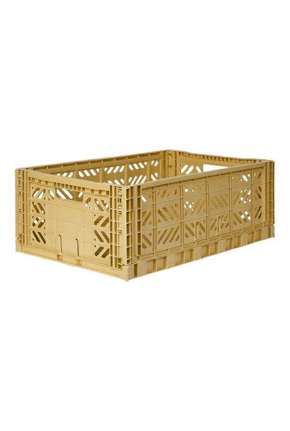 Folding Crate Gold - Large