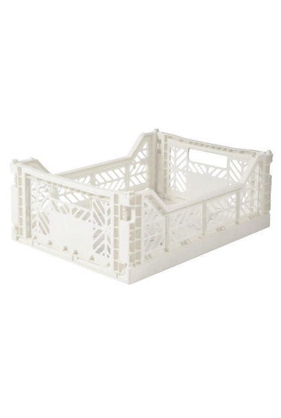 Folding Crate Coconut Milk - Medium